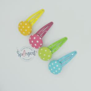 Haarspangerl Set knalligbunte Sommerfarben