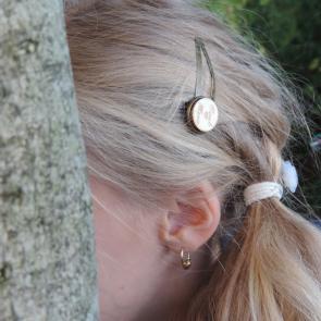 Hochzeit - Personalisiertes Haarspangerl